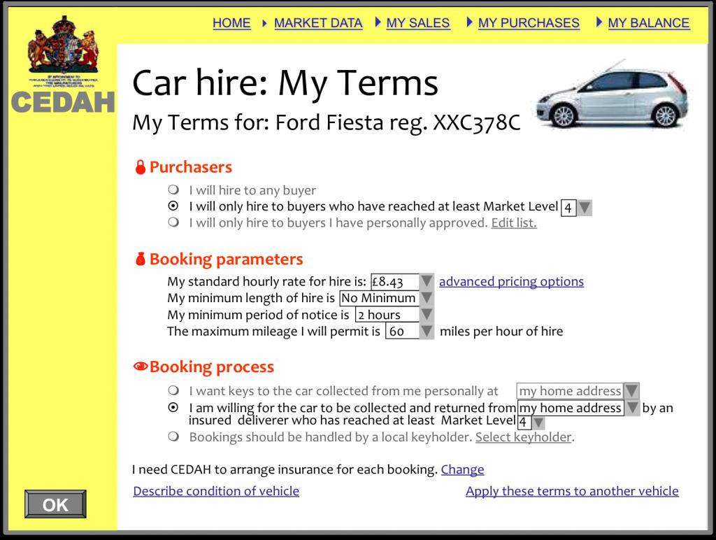 CEDAH - Car Hire